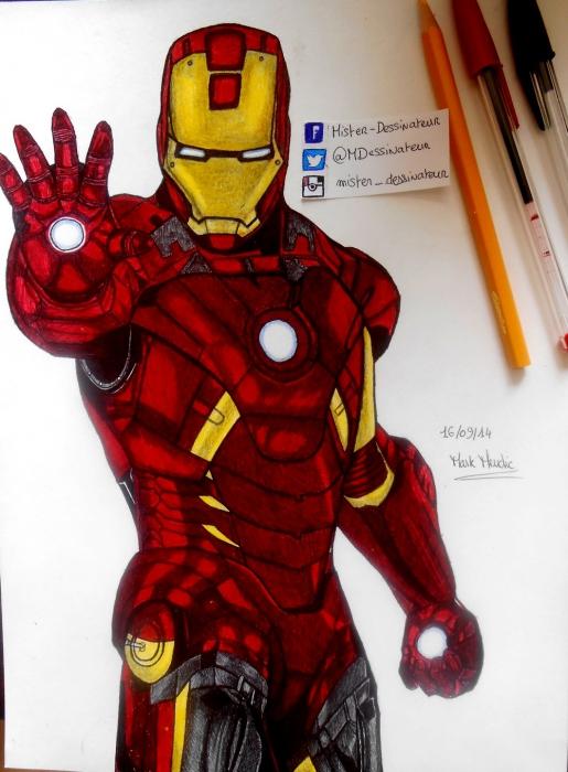 Iron Man by MisterDessinateur45